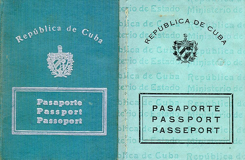 1947 Cuban Passport