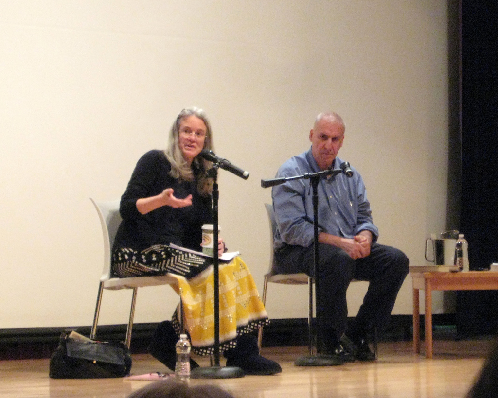 2010 Poets Forum: Sharon Olds and Edward Hirsch discuss the meanings of words.