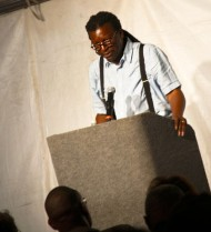 Cornelius Eady reading at Cave Canem 2011