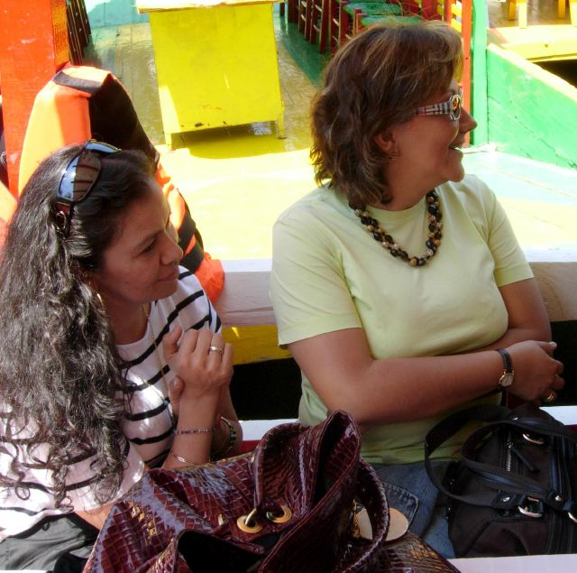 Ana Marcela Yarce Viveros, left, and Rocio González Trapaga. Photo: © Contralinea