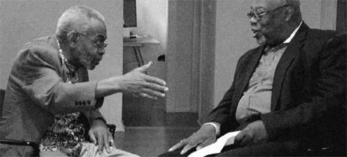 Amiri Baraka and Sala Udin