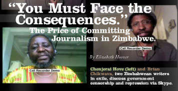 Chenjerai Hove and Brian Chikwava