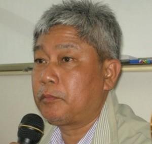 Cartoonist Aw Pi Kyeh, Burma