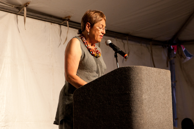 Toi Derricotte reads at Cave Canem 2011 Photo: Rachel Eliza Griffiths
