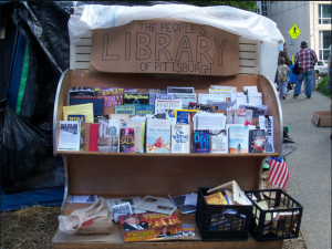 The People's Library at Occupy Pittsburgh