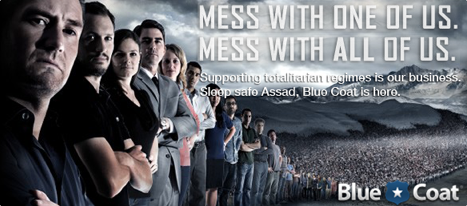 Blue Coat, Internet Censorship, Assad