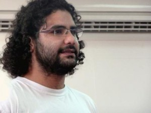 Jailed blogger Alaa Abd Fattah