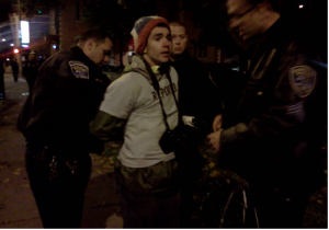 Student Reporter Arrested At Occupy Richmond