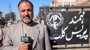 VOA journalist Mukarram Khan Aatif