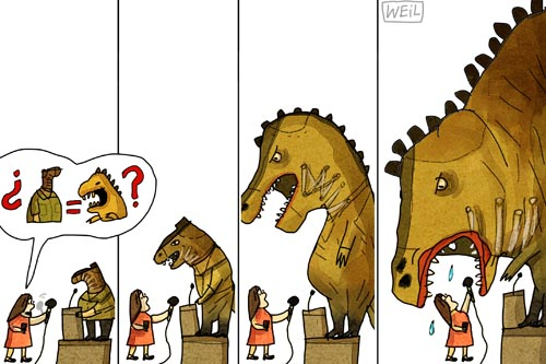Venezuelan cartoonist Roberto Weil