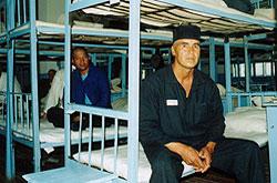 Muhammad Bekjanov in prison, 2003