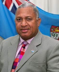 Prime Minister Frank Bainimarama justifies media censorship