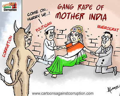 Gang Rape of Mother India