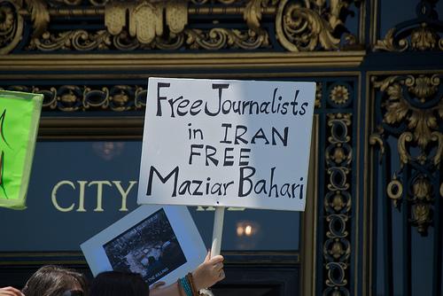 Free journalists in Iran