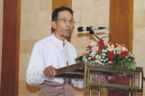 Maung Aung Pwint. Photo: Khet Mar