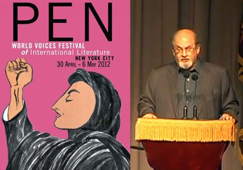 Salman Rushdie PEN 2012