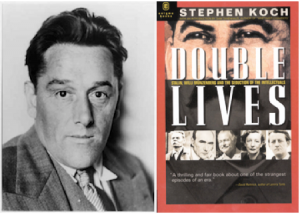 Left: Willi Münzenberg; Right: Double Lives by Stephen Koch