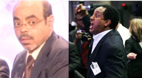 Meles Zenawi and Abebe Gelaw