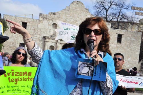 Carmen Tafolla and Librotraficantes