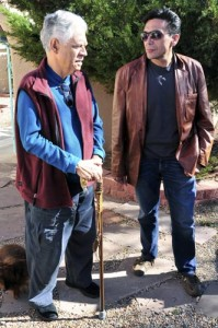 Rudolfo Anaya and Tony Diaz