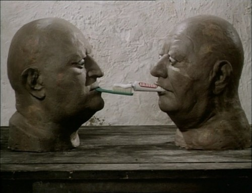 Dimensions of Dialogue (1982), Photo: Jan Švankmajer, Athanor