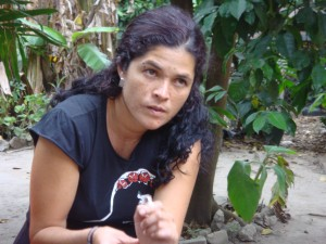 Guatemalan Journalist, Lucía Escobar Photo: Index on Censorship
