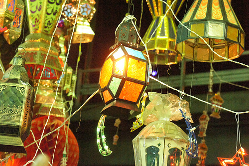 Ramadan lanterns in Giza.