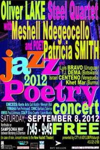 Jazz Poetry Concert 2012