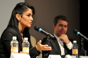 Lydia Cacho, author of Esclavas del poder. Photo: Artículo 19. Creative Commons Licensed.