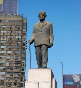 Statue of Naguib Mahfouz