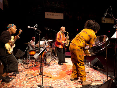 Oliver Lake's Steel Quartet with Meshell Ndegeocello