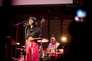 TJ Dema performs at City of Asylum/Pittsburgh's Jazz Poetry concert 2012. Photo: Chris Rolinson
