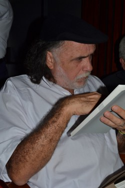 Harry Almena reading