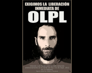 Poster calling for Orlando's release