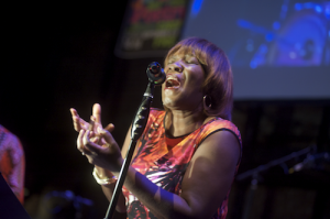 Patricia Smith performs at the 8th annual Jazz Poetry festival. Photo: Chris Rolinson