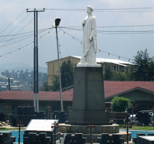 Aboune Petros Statue