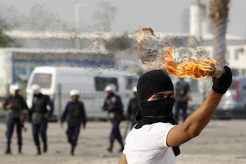 Bahraini Protester