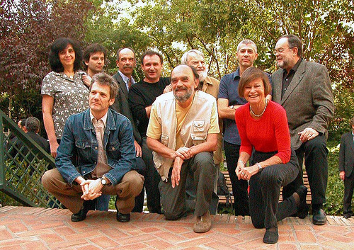 Liliana Heker with other Argentinian writers