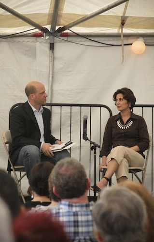 "<a href=""http://www.sampsoniaway.org/blog/2012/07/16/video-a-conversation-with-nazila-fathi/"">A Conversation with Nazila Fathi</a>"