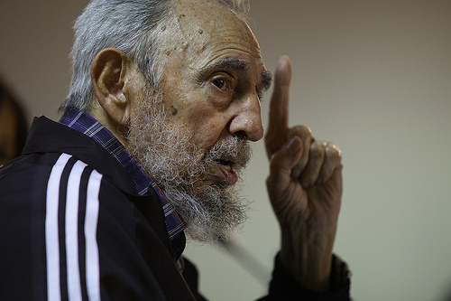 """<a href=""""http://www.sampsoniaway.org/fearless-ink/2012/08/31/the-one-thousand-and-959-deaths-of-fidel-castro/"""">The Revolution Evening Post: The One Thousand and 959 Deaths of Fidel Castro</a>"""