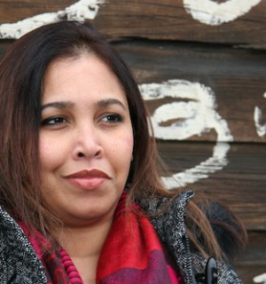 Sri Lankan writer Sonali Samarasinghe. Photo: Josh Barnes.