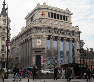 The Instituto Cervantes, a non-profit organization in Madrid, promotes the study of Spanish literature and culture. Photo: M. Peinado on Flickr.