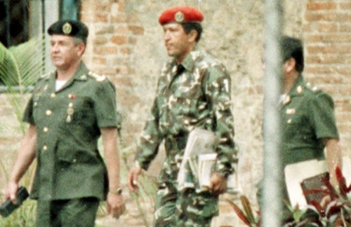 Hugo Chávez, Detained in 1992