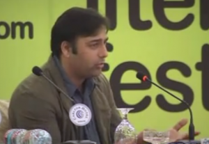 Author Basharat Peer discusses his book BLANK at the Kaipur Literary Festival in 2011.