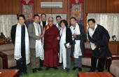 European-Chinese Delegation and the Dalai Lama