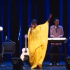 Somali hip-hop group Waayaha Cusub performing at the Kennedy Center in Washington, D.C. Photo:NoMadLyrics via YouTube.