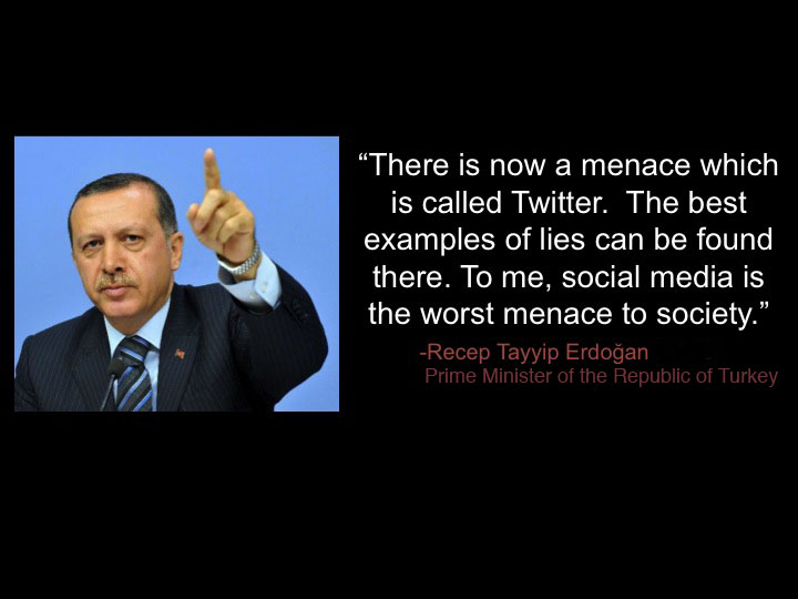 "<a href=""http://www.france24.com/en/20130603-turkey-erdogan-protesters-twitter-media-istanbul"">""Turkey's Erdogan takes on protesters… and Twitter,"" <em>France 24</em>, 2013</a>"