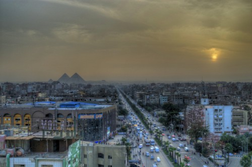 Giza Sunset