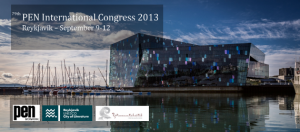 The 79th Annual PEN International Congress was in Reykjavik, Iceland from September 9-12.