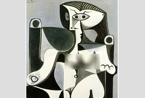 Censured Picasso